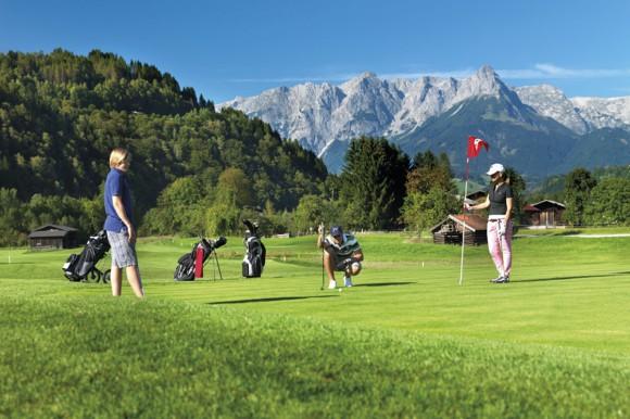 Golfen - Salzburger Land - Golfplatz St. Johann - Alpendorf