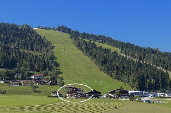 Hotel Vierjahreszeiten - Toplage in Flachau