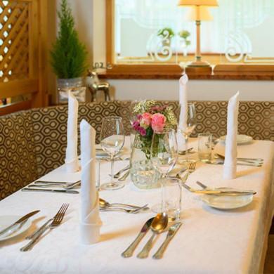 4 Sterne - Hotel Vierjahreszeiten - Flachau - Inklusivleistungen - Kulinarium