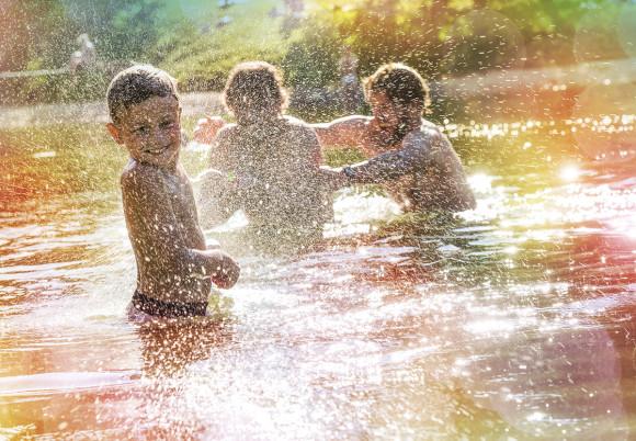 Baden & Schwimmen - Sommerurlaub in Flachau, Salzburger Land