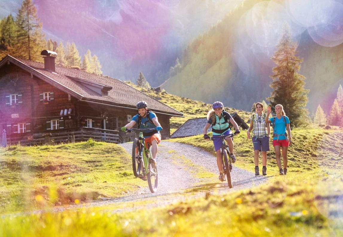hotel-vierjahreszeiten-flachau-funsport-sommer-1