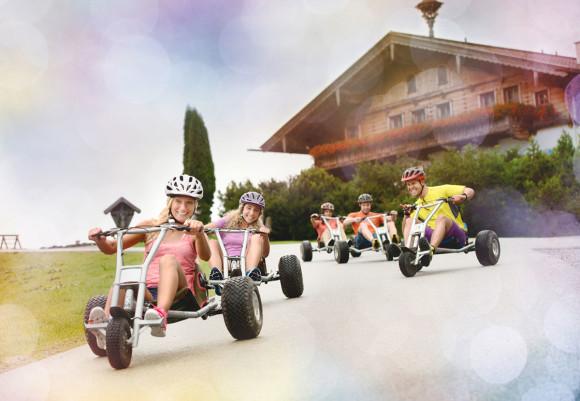 Sommer im Hotel in Flachau - Vierjahreszeiten