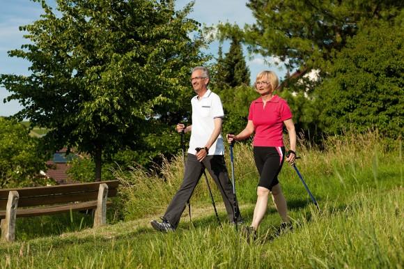 Nordic Walking - Flachau - Salzburger Land - Hotel Vierjahreszeiten