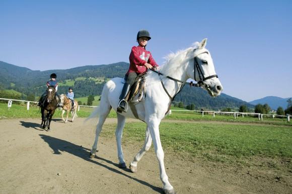 Reiten - Flachau - Salzburger Land - Hotel Vierjahreszeiten